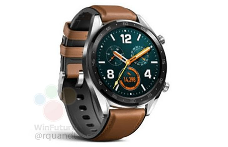 Huawei Watch GT leak points to big battery and small price tag
