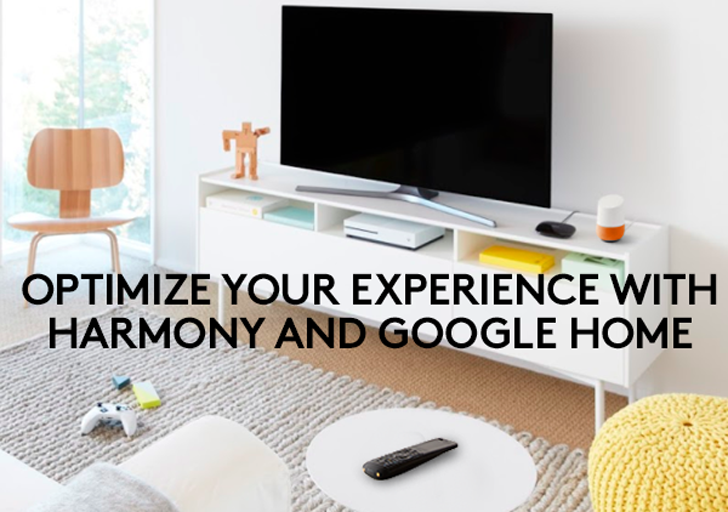 Logitech Harmony direct control is finally live on Google Assistant (and Home), but there are some limitations