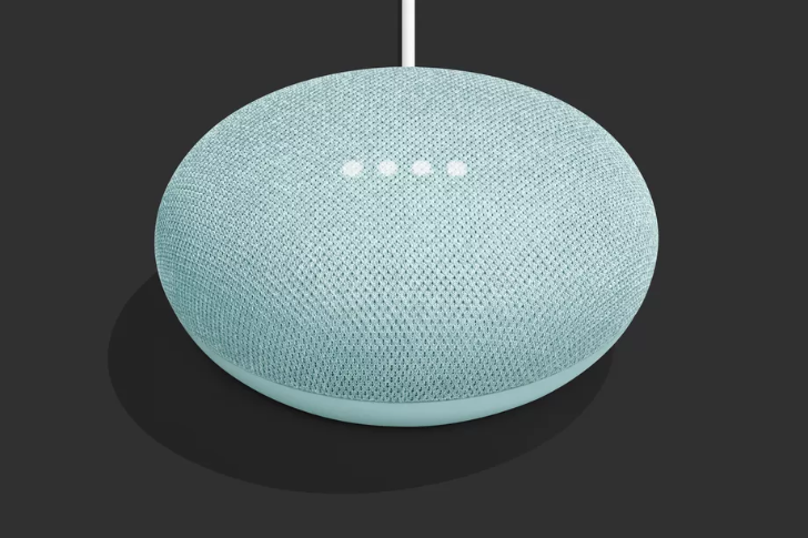 [Update: Rolling out in Europe, too] Google Home Mini is now available in aqua from the Google Store
