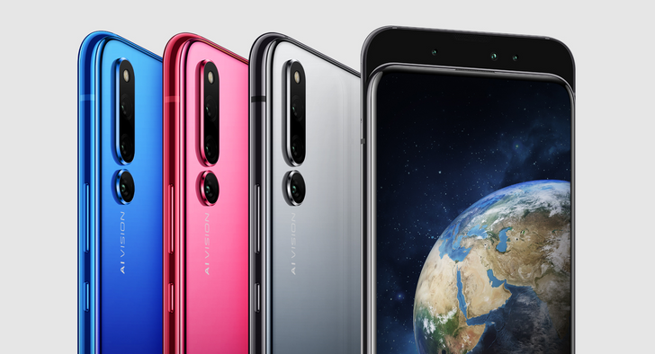 Honor Magic 2 features an almost bezel-free display with slide-out front cameras and in-display fingerprint tech