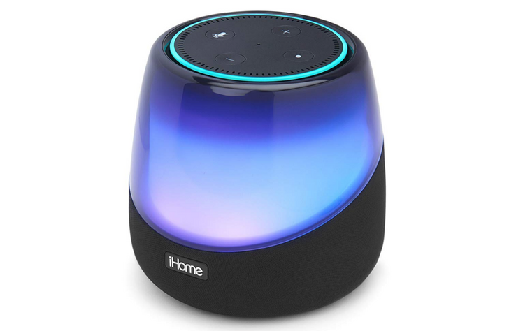 The iHome iAV5 Bluetooth speaker for Echo Dot is $40 ($20 off) on Amazon