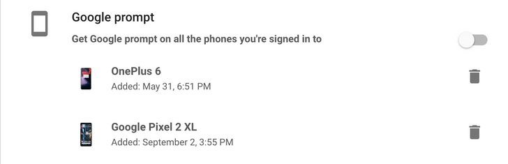 Google Account sign-in prompt adds option to use 'all phones you're signed in to'