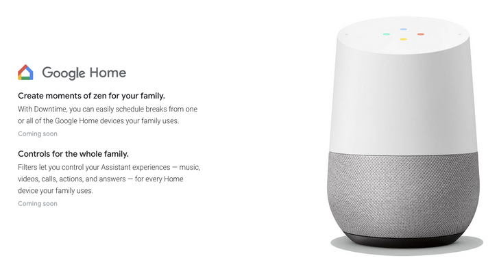 Digital Wellbeing features starting to arrive on Google Home speakers