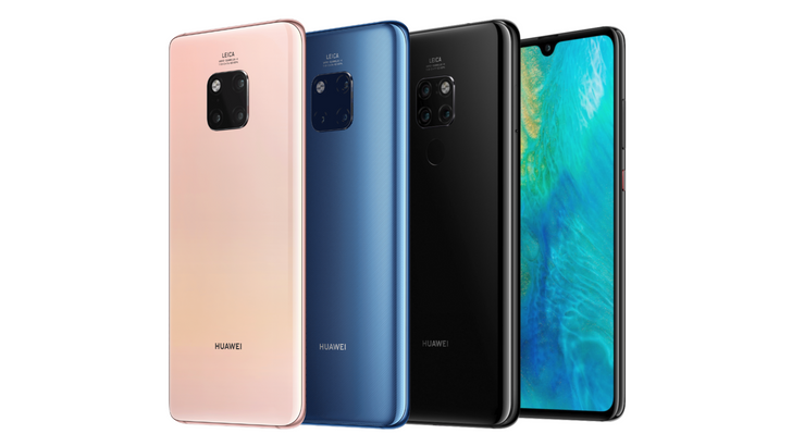 Huawei announces Mate 20 and Mate 20 Pro with big batteries and triple rear cameras, starting at €799