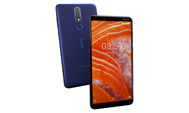 "Nokia 3.1 Plus announced: 6"" HD+ display, dual cameras, and 2-day battery life"