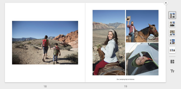 Google Photos now lets you customize photo book layouts