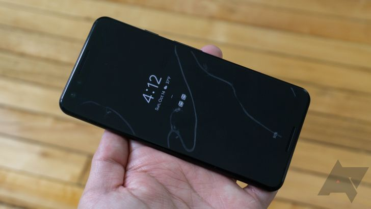 The Pixel 3's Ambient Display flashing bug is fixed in the April OTA