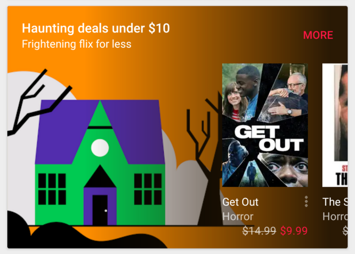 [Deal Alert] Google Play has savings on creepy movies, books, and TV in time for Halloween