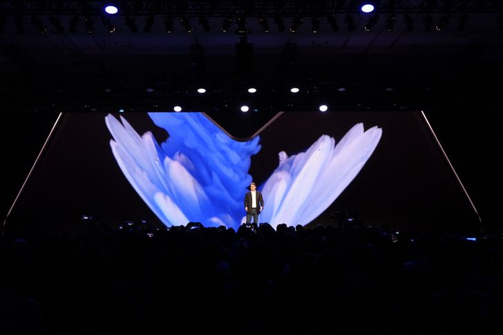 [Update: Display specs] Samsung just announced its foldable phone and display technology, coming next year