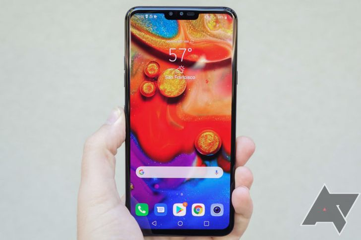 Verizon releases LG V40 ThinQ update with new camera features, Android security updates