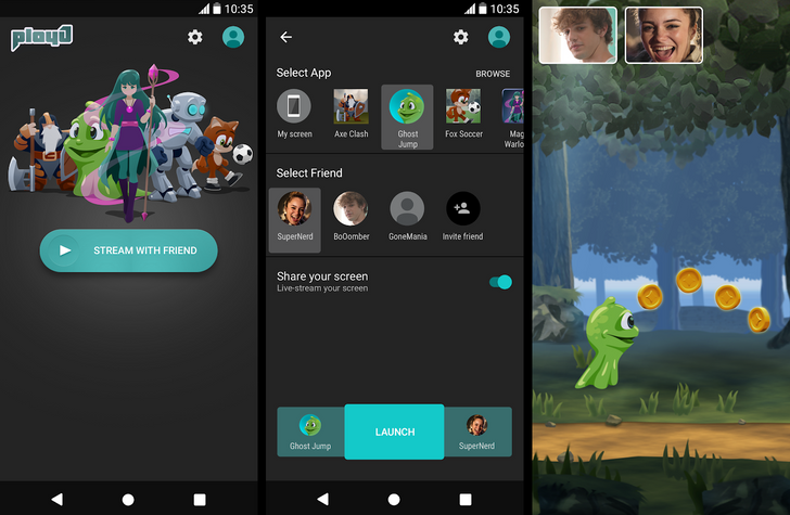 Sony's PlayJ app lets you screen share games and watch videos with friends [APK Download]