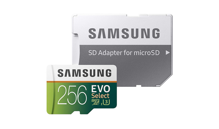 Samsung's EVO Select U3 64GB, 128GB, and 256GB microSD cards fall to all-time low prices on Amazon