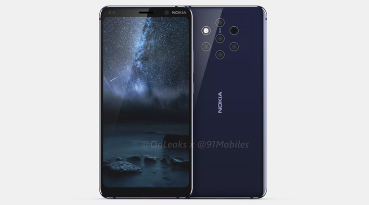 Nokia 9 PureView with five rear cameras could be real after all