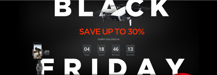DJI's Black Friday deals go live, including $100 off Mavic Air and many more