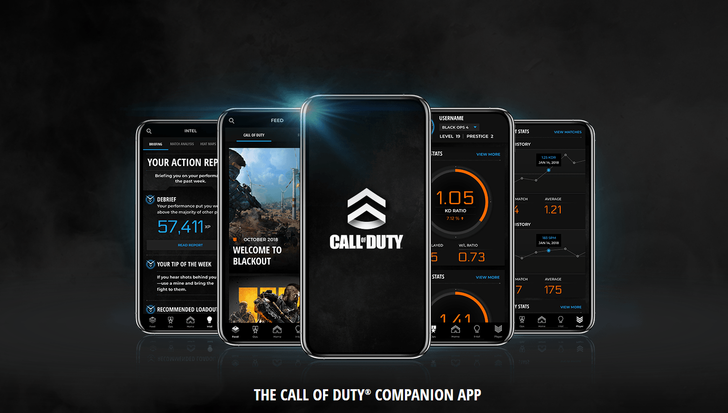 Activision's Call of Duty Companion App is available on the Play Store