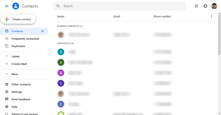 New Google Contacts web app is here to stay, becoming only option in 2019