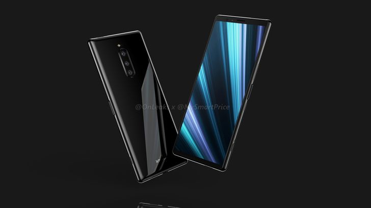 Leaked Sony Xperia XZ4 renders show 21:9 display and three rear cameras