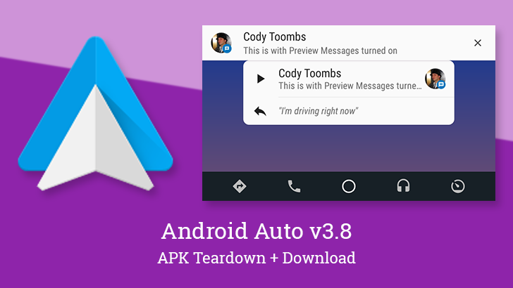 Android Auto v3 8 adds optional message previews and revamps the