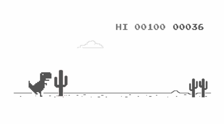 Show off your Chrome dino-game skills with the arrival of cross-device high score sync