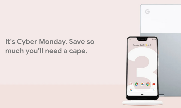 Google Store Cyber Monday deals are live: Free Home Hub and $50 credit with Pixel 3 & 3 XL, $20 off custom cases, and more