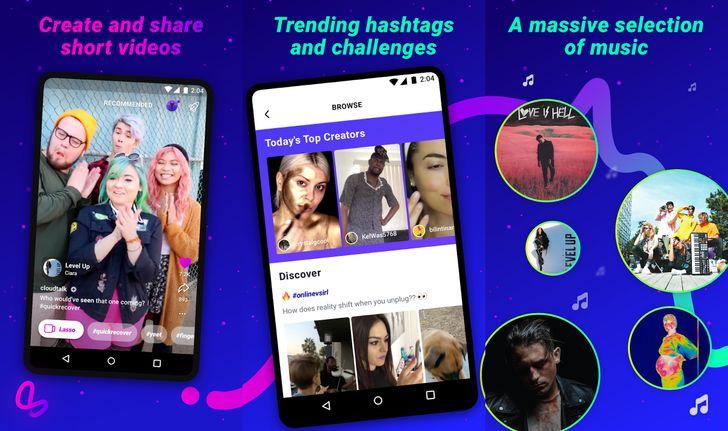 [Hello fellow kids] Facebook launches Lasso, a Vine/TikTok clone