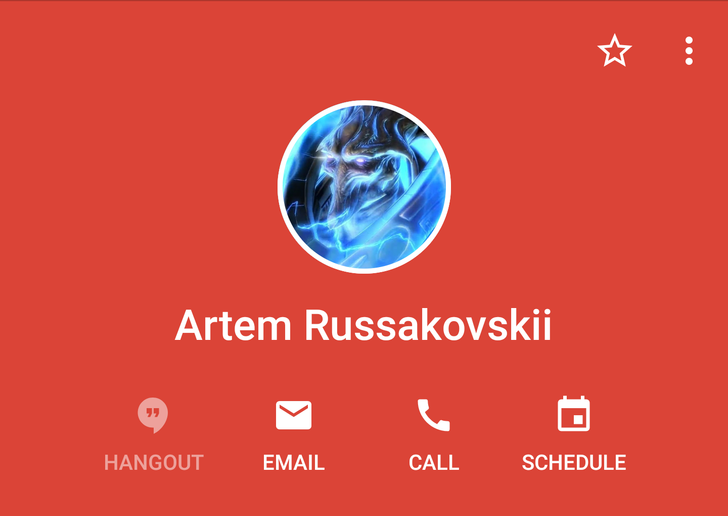 [Update: Also in Gmail] Google contact cards get a new look in Hangouts and Google+