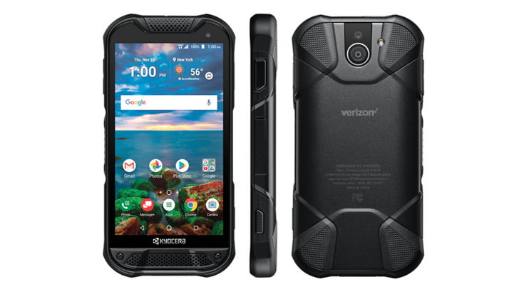 Kyocera's new Verizon-exclusive phone sports a rugged design and a sapphire screen