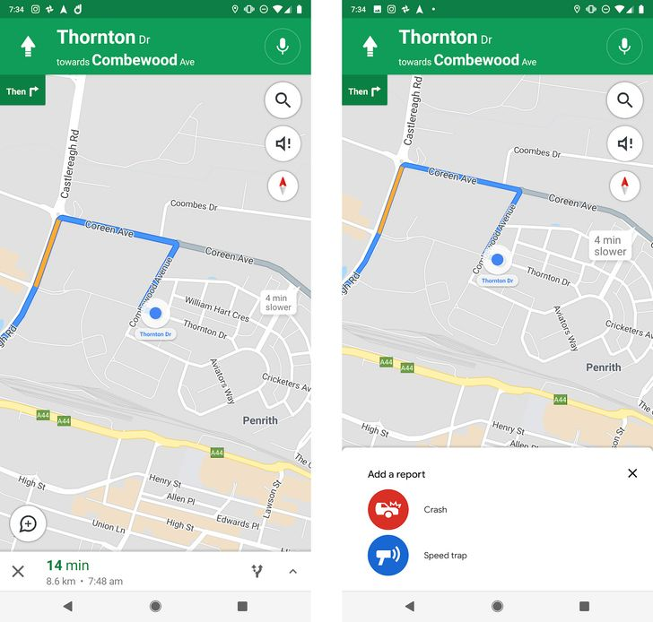 Google is testing crash and speed trap reporting in Maps