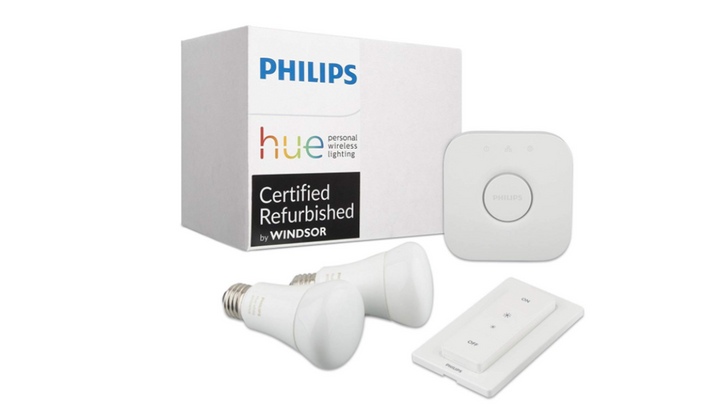 Certified refurbished Philips Hue products are up to 38 percent off today on Amazon