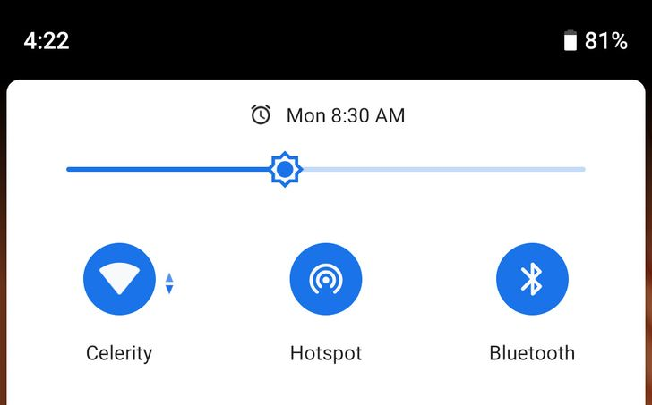 The Pixel 3 and 3 XL support Wi-Fi sharing to other devices