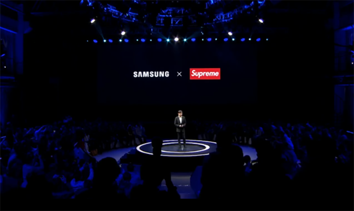[Update: Samsung calls it off] Samsung shamelessly aligns with off-brand Supreme in China