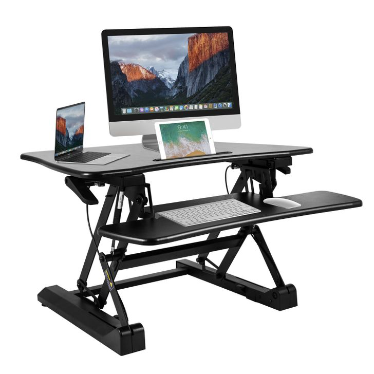 BESTEK's Height Adjustable Standing Desk and Magnetic Cell Phone Holder are 60% off [Sponsored Post]