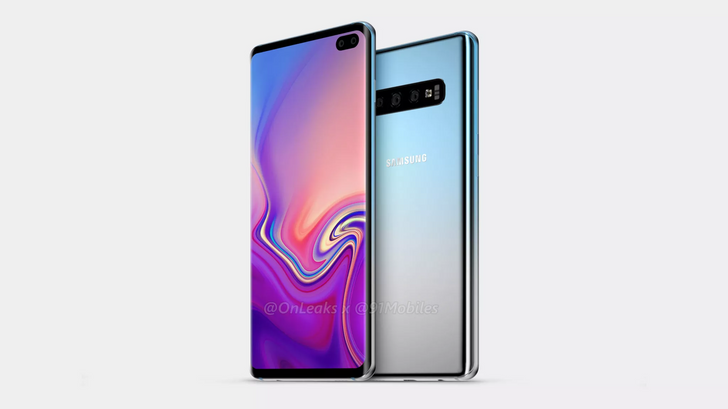 New Galaxy S10 renders show display hole and triple camera array