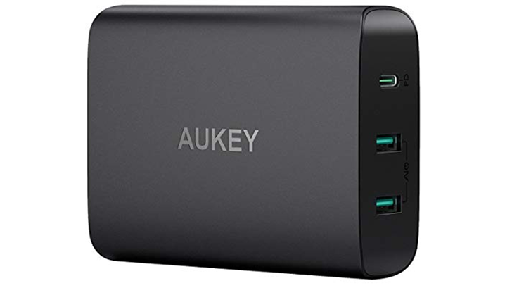 Aukey's 60W USB-C PD charger is $36 ($14 off) with coupon code on Amazon