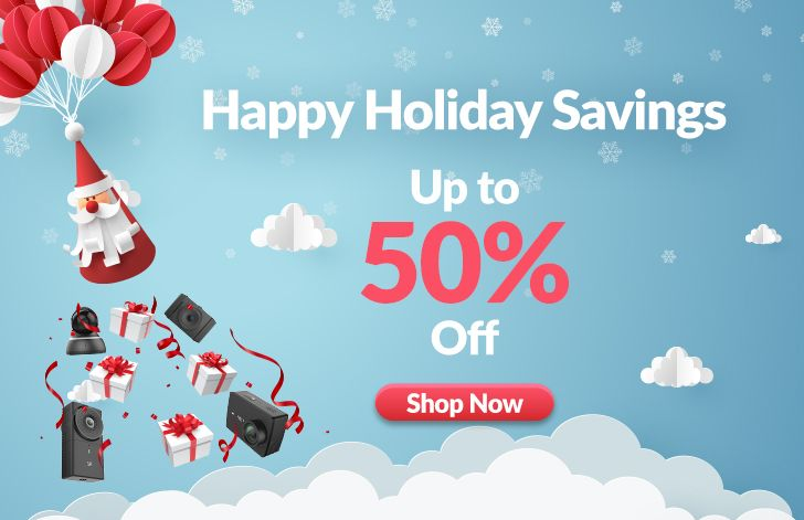 Yi Happy Holiday Savings: Get a 4K action camera, a 360° camera, and more for up to 50% off [Featured Deal]