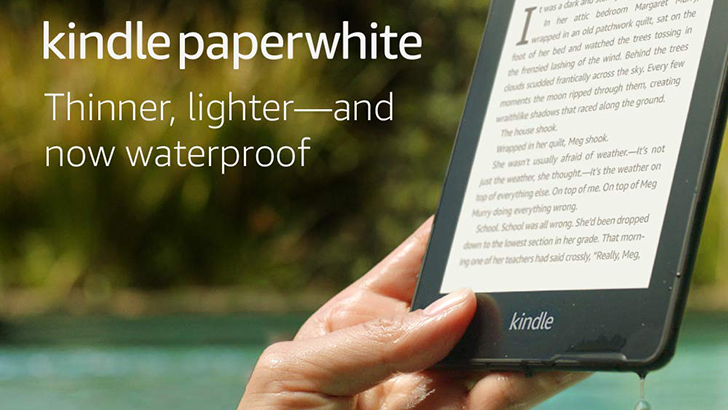The new Kindle Paperwhite is $30-40 off ($100-$120) right now