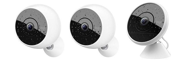 Logi Circle 2 bundle with 2 wireless cameras and 1 wired down to $300 ($200 off)
