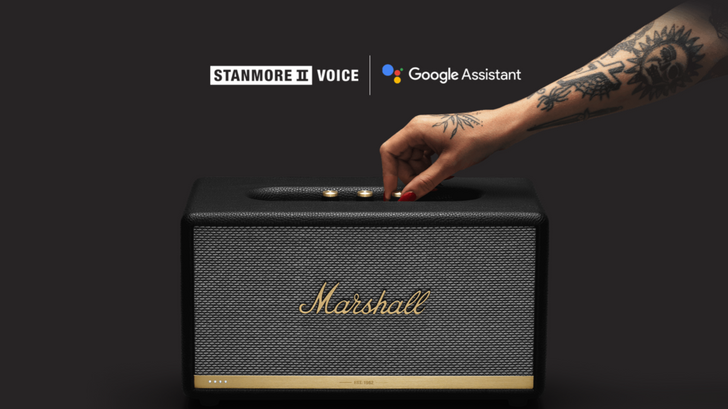Google Assistant versions of Marshall's retro-inspired smart speakers are now available