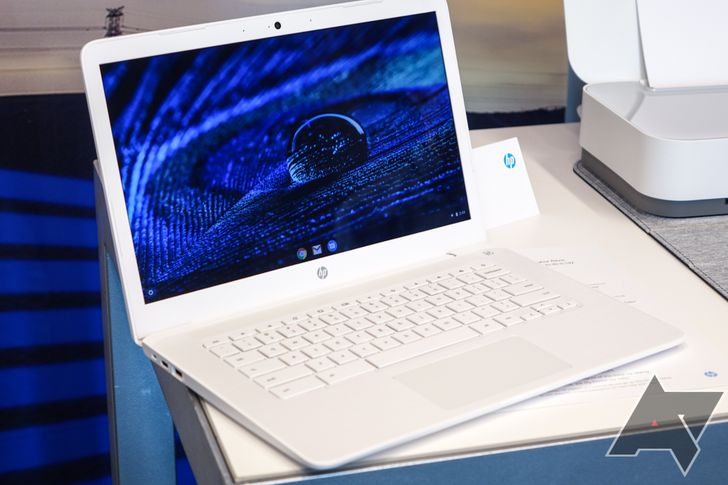 The HP Chromebook 14 is powered by an AMD processor, starts at $269, and comes in white
