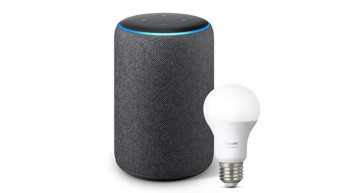 Save $45 on Amazon Echo Plus and Philips Hue bulb bundle from B&H