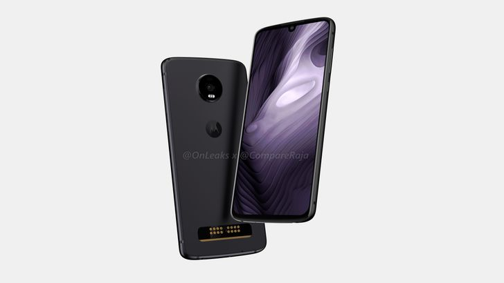 Moto Z4 Play leaked renders reveal Moto's continued and inexplicable commitment to Mods