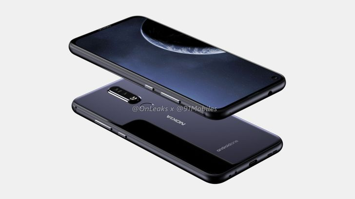 Nokia's first hole-punch phone appears in new renders