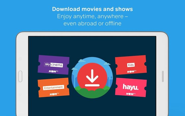 Sky's Now TV app for Android introduces offline viewing