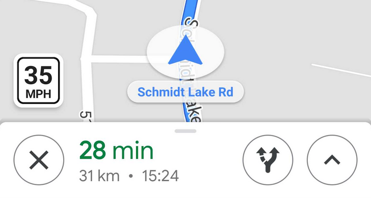 Google Maps speed limit feature goes live for some across the United States