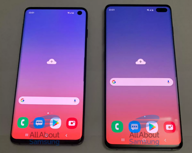 Detailed Galaxy S10 and S10+ photos leak, revealing hole-punch displays and triple rear camera setups