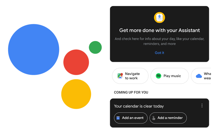 The Google Assistant app is rolling out dark mode cards, and they look pretty terrible