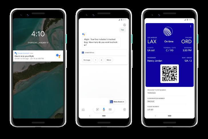Google Assistant gains flight check-ins, hotel booking, Interpreter Mode, and broadens lockscreen support