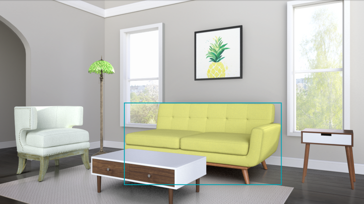Amazon's new Showroom lets you preview furniture in a virtual living room