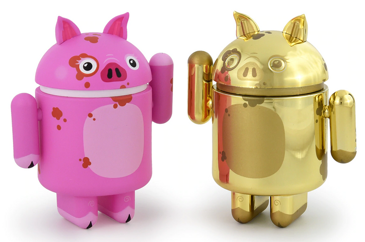 Dead Zebra reveals upcoming Year of the Pig Android figurine to celebrate Chinese New Year