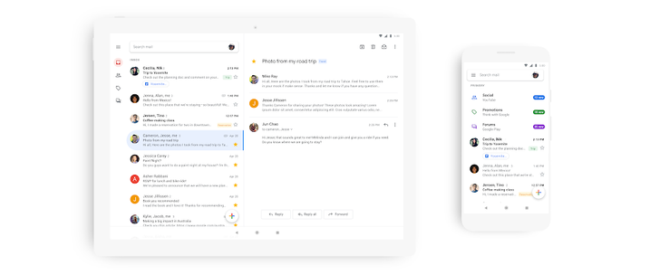 [Update: APK Download] Blindingly bright Google Material theme starts rolling out to Gmail app today